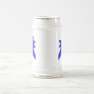 Blue Ribbon Mom #1 Beer Stein