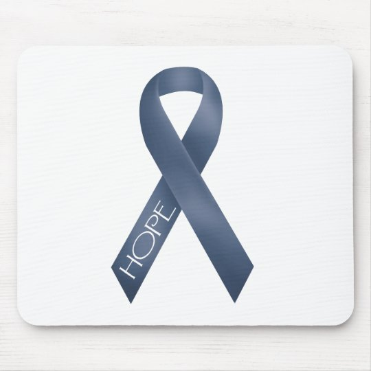 Blue Ribbon Mouse Pad