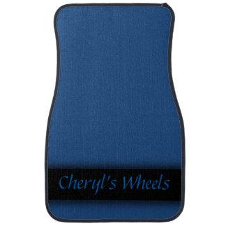 Blue Ribbon Personalized Car Floor Mat