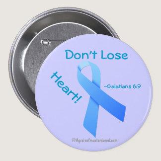 Blue Ribbon Pinback Button