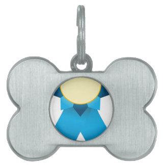 Blue Ribbon Prize Blank Pet Tag