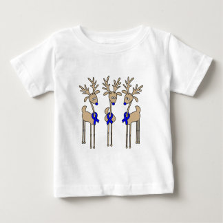Blue Ribbon Reindeer Baby T-Shirt