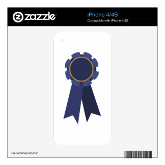 Blue Ribbon Skins For The iPhone 4