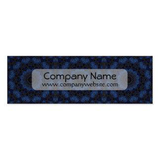 Blue Ribbon Star kaleidoscope Business Card Templates
