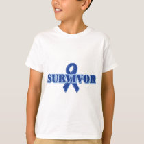 Blue Ribbon - Survivor T-Shirt
