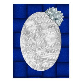 Blue Ribbon Template Postcard