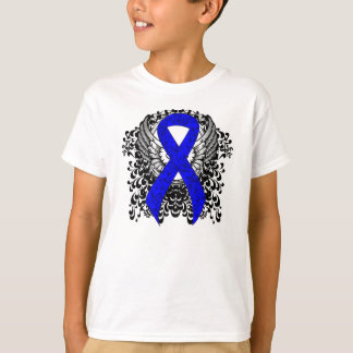 Blue Ribbon with Wings T-Shirt