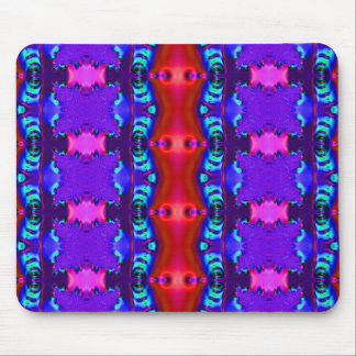 Blue Ribbons Mouse Pad