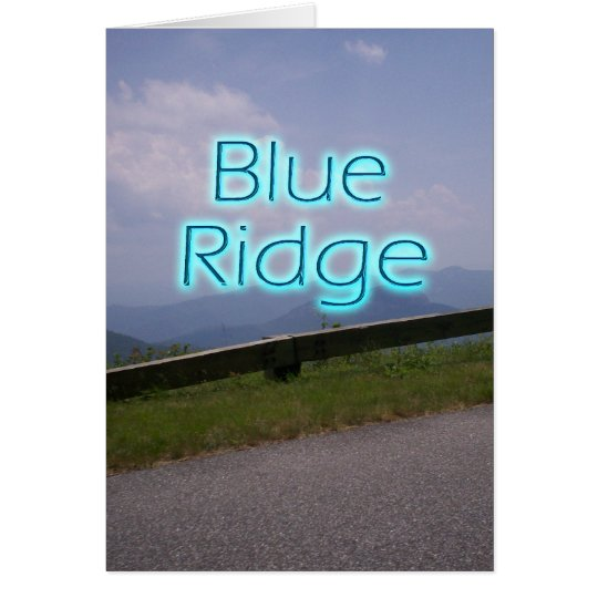 Blue Ridge4 Card