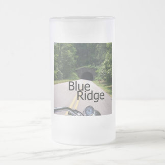 Blue Ridge 6 Frosted Glass Beer Mug