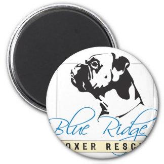 Blue Ridge Boxer Rescue 2 Inch Round Magnet