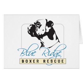 Blue Ridge Boxer Rescue Card