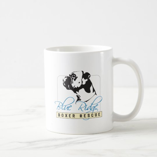 Blue Ridge Boxer Rescue Coffee Mug