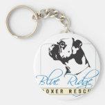Blue Ridge Boxer Rescue Key Chain
