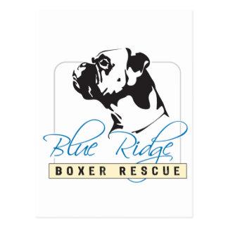 Blue Ridge Boxer Rescue Postcard