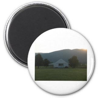 Blue Ridge Farm Sunset Magnet
