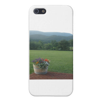 Blue Ridge Flowers Cover For iPhone SE/5/5s