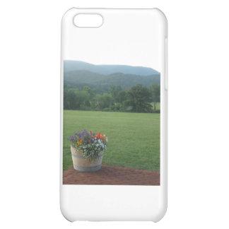 Blue Ridge Flowers Case For iPhone 5C
