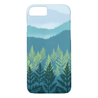 Blue Ridge iPhone X/8/7 Barely There Case