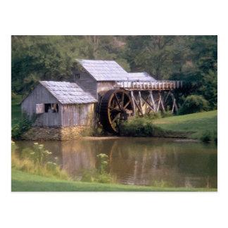 Blue Ridge Mill Pond Postcard