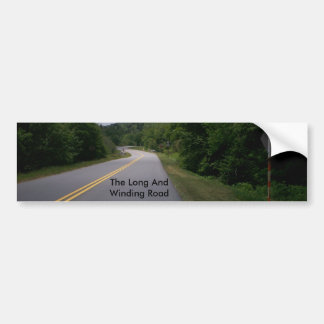 Blue Ridge Motorcycle Ride 10 Bumper Sticker