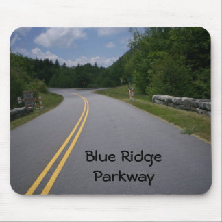 Blue Ridge Motorcycle Ride 11 Mouse Pad