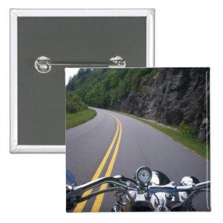 Blue Ridge Motorcycle Ride 2 Pinback Button