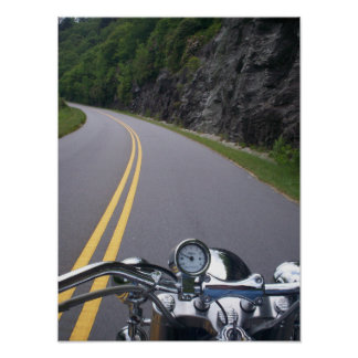 Blue Ridge Motorcycle Ride 2 Poster