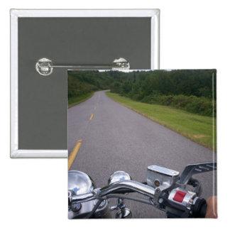 Blue Ridge Motorcycle Ride 3 Pinback Button
