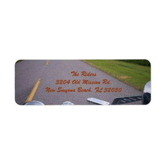 Blue Ridge Motorcycle Ride 3 Label