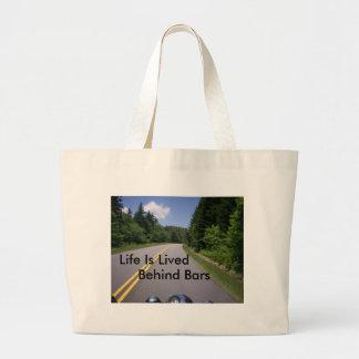 Blue Ridge Motorcycle Ride Canvas Bags