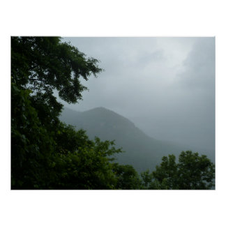 Blue Ridge Mountain Fog 2 Poster