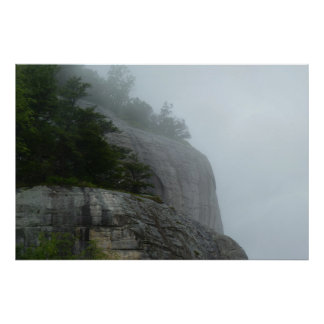 Blue Ridge Mountain Fog Poster