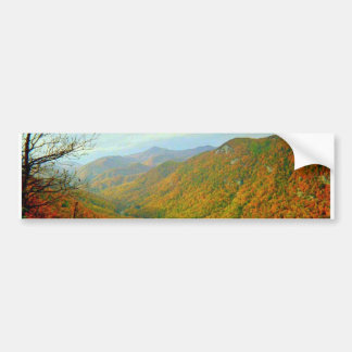 Blue Ridge Mountain Range of North Carolina Bumper Sticker