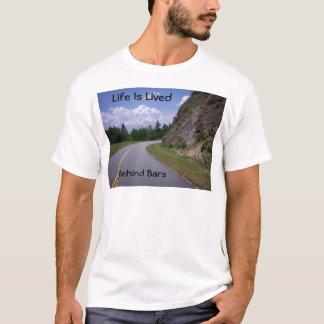 Blue Ridge Mountain Rock Road T-Shirt