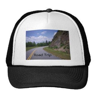 Blue Ridge Mountain Rock Road Trucker Hat