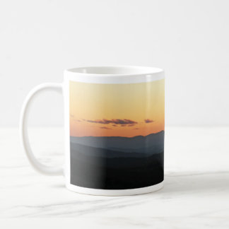 Blue Ridge Mountain Sunrise Panorama Mug