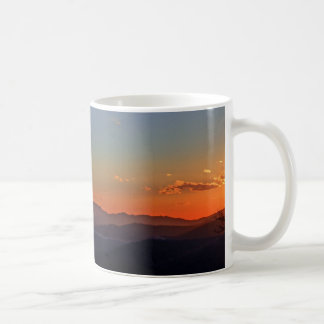 Blue Ridge Mountain Sunrise Panorama Mug 2