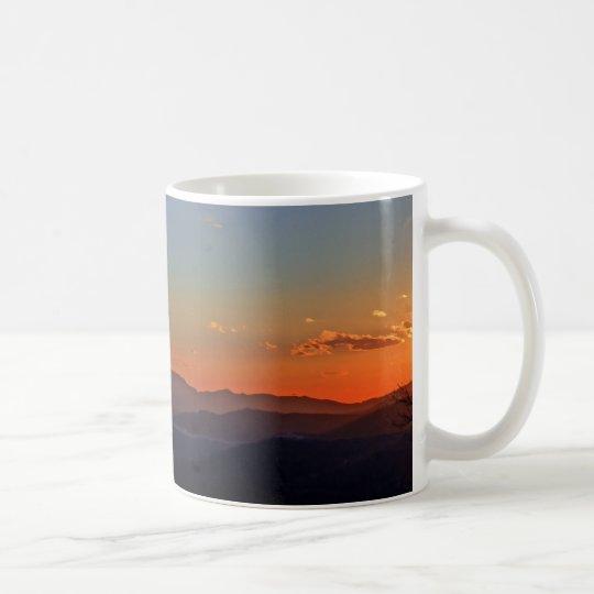 Blue Ridge Mountain Sunrise Panorama Mug 2