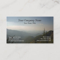 Blue Ridge Mountains Business Card