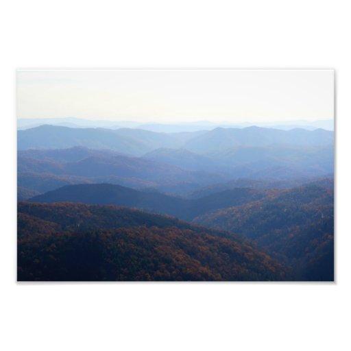 Blue Ridge Mountains, Carolina del Norte Fotografías