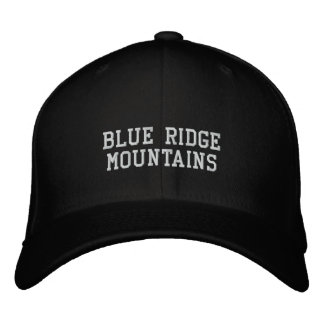 Blue Ridge Mountains Embroidered Baseball Cap