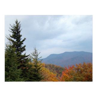 Blue Ridge Mountains hermoso Tarjetas Postales