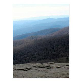Blue Ridge Mountains in North Carolina Postcard