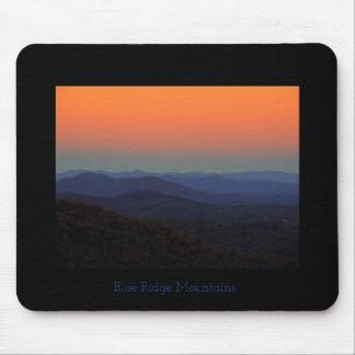 Blue Ridge Mountains - Just after sunset Mouse Pad