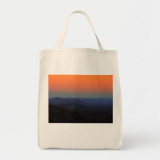 Blue Ridge Mountains - Just after sunset Tote Bag