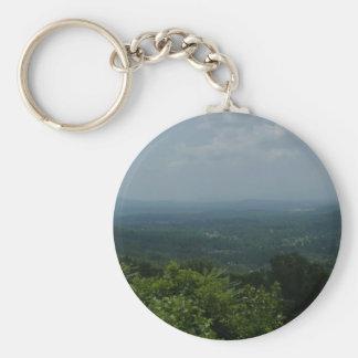 Blue Ridge Mountains Keychain