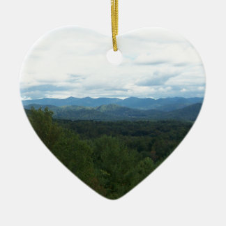 Blue Ridge Mountains - NC Ceramic Ornament