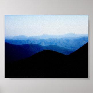 Blue Ridge Mountains Posters