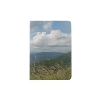 Blue Ridge Mountains Photo on Passport Holder